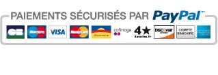 Logo paypal paiements securises fr